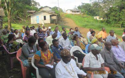 GFDLP Brings Potable Water, Scholarship Message To Bonakanda Community